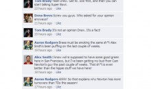 NFL Quarterbacks Facebook Convo: Week 7 Edition