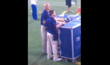 Steven Hauschka Caught Urinating On Sideline During Last Night's Seahawks-49ers Game (Video)
