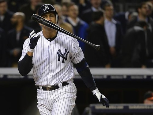 alex rodriguez a-rod 2012 pinch-hit postseason