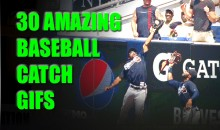 21 Amazing Baseball Catch GIFs