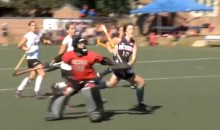 This Field Hockey Goal Is Ridiculously Awesome (Video)