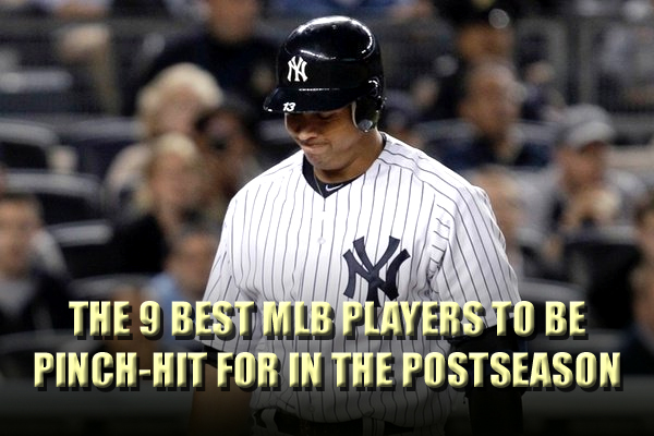 best players to be pinch-hit ph for in the postseason