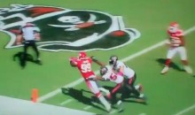 Chiefs' Blocked Punt/Interception TD Against The Bucs Is The Weirdest Play Of The 2012 NFL Season (Video)