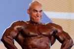 Tanning Fail: Bodybuilder Applies The Bronzer For Competition, But Forgets To Do His Face (Photos)