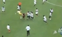 Check Out This Vicious Soccer Brawl…Between 12-Year-Olds! (Video)
