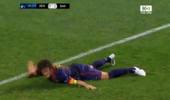 carlos puyol injury