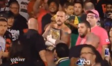 WWE Champ CM Punk Punched A Fan During Monday Night Raw (Videos)