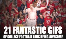21 Awesome College Football Fan GIFs From 2012