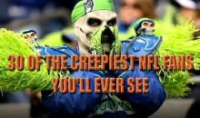 30 of the Creepiest NFL Fans You'll Ever See