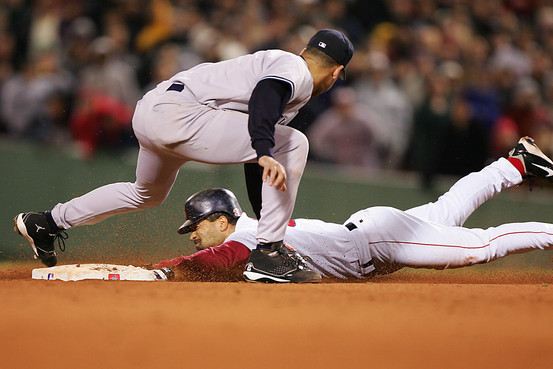 dave roberts stolen base 2004 red sox unlikely postseason heroes