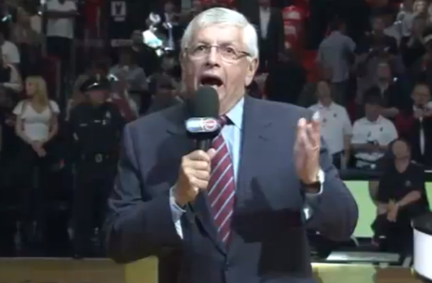 david stern hurrican sandy katrina