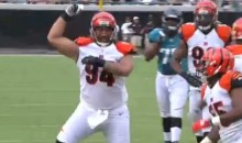 Bengals DT Domata Peko Does Gangnam Style Sack Dance (Video)