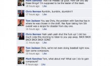 Another NFL Quarterback Facebook Conversation (This Time With Mark Sanchez)