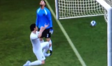 FIFA Soccer 13 Glitch Has One Player Doing Unspeakable Things To Another Player (Video)
