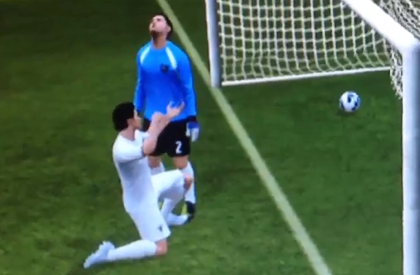 fifa 2013 dirty goal celebration fail