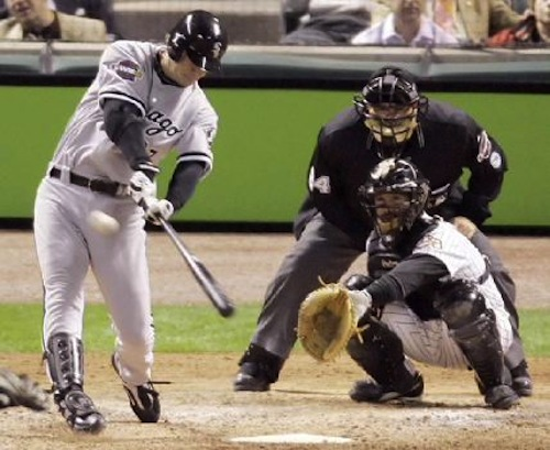 geoff blum 2005 white sox home run unlikely postseason heroes