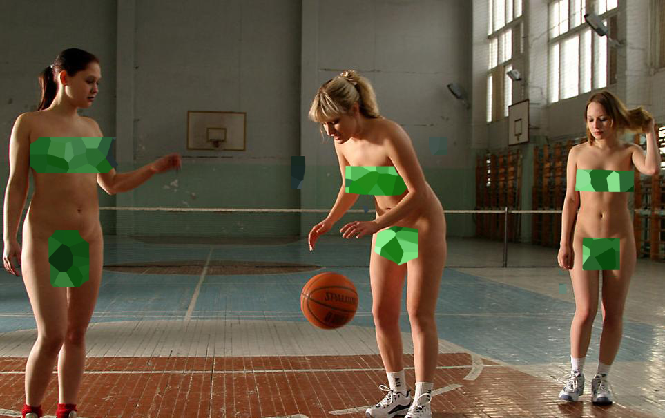 Girls Playing Nude Sports