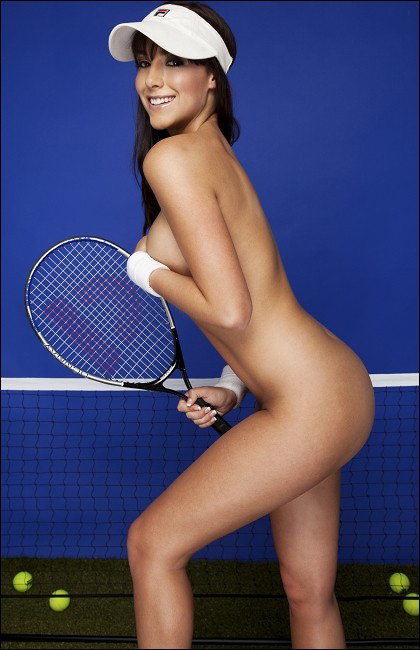 Tennis playboy nude