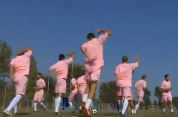 greek soccer club sponsored by whore house bordello