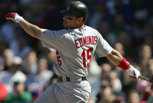 jim edmonds 2005 pinch-hit postseason