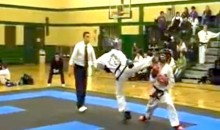 Terrible Karate Skills Earn This Kid a One-Second Knockout Loss and a Trip to the Hospital (Video)