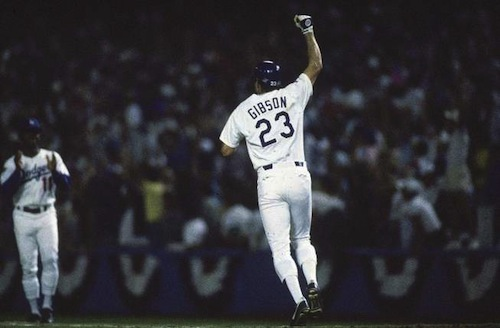 kirk gibson 1988 world series home run unlikely postseason heroes