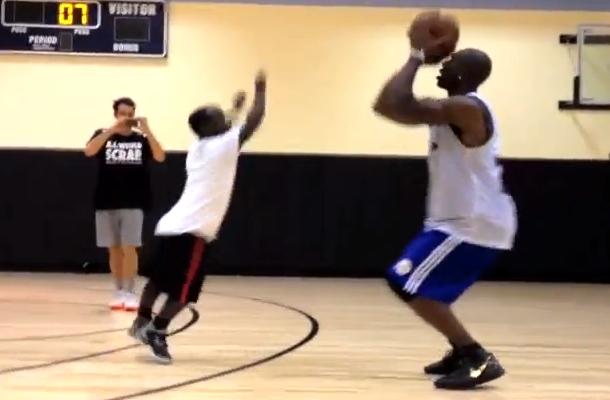 mani love vs. terrell owens basketball