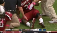South Carolina Running Back Marcus Lattimore Suffers Gruesome Leg Break (Video)