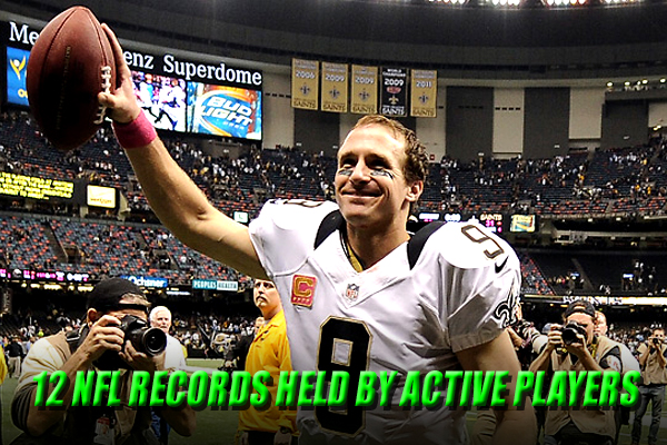 nfl records held by active players