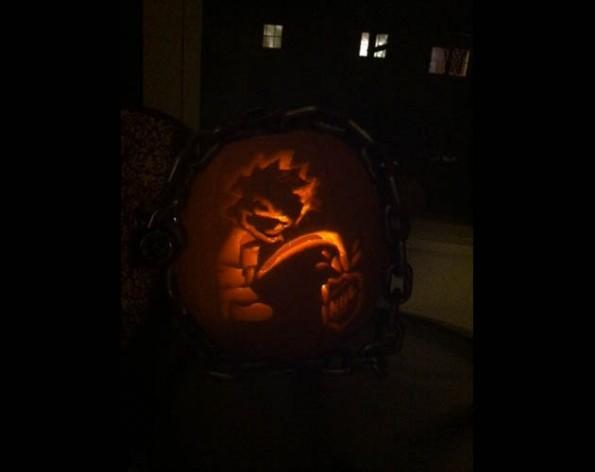 nhl lockout pumpkin 1