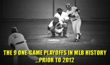 The 9 One-Game Playoffs in MLB History (Prior to 2012)
