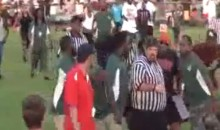 Youth Football Coach Slaps Referee In The Face (Video)