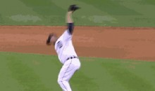 After Clinching A World Series Berth, All Phil Coke Wanted To Do Was Rage (GIF)