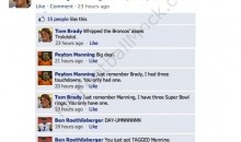 NFL Quarterbacks Chat On Facebook, Part II