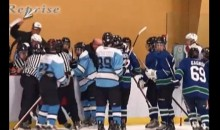 Quebec Minor Hockey Coach Suspended 10 Years For Punching A Player (Video)
