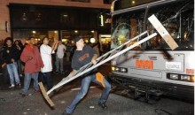 San Francisco Police Are Looking For Giants Fan Who Trashed City Bus After World Series Victory (Photo & Videos)