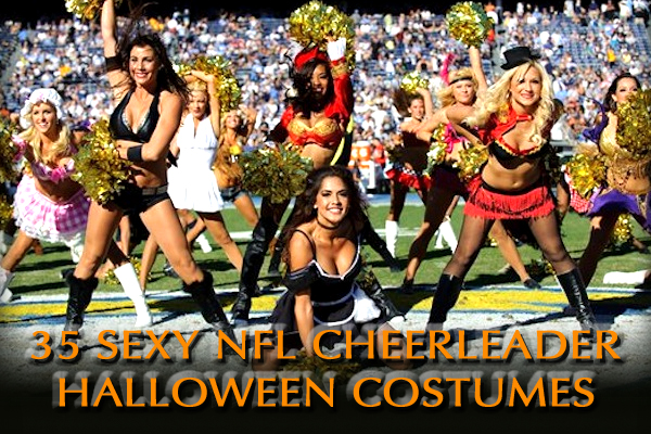 sexy nfl cheerleader halloween costumes