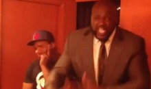 Shaq's One-Sided Feud With Dwight Howard Just Got Weirder: The Big Aristotle Is Rapping Again (Video)