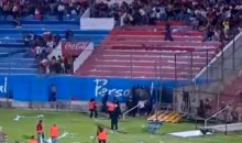 Fans and Players Riot at South American Soccer Match (Video)