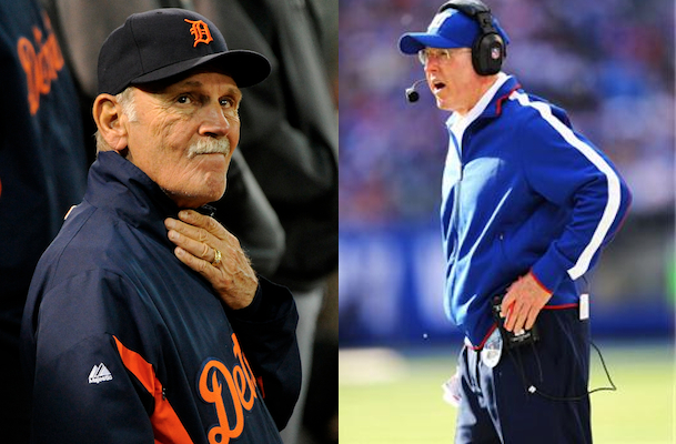 tom coughlin calls jim leyland before world series
