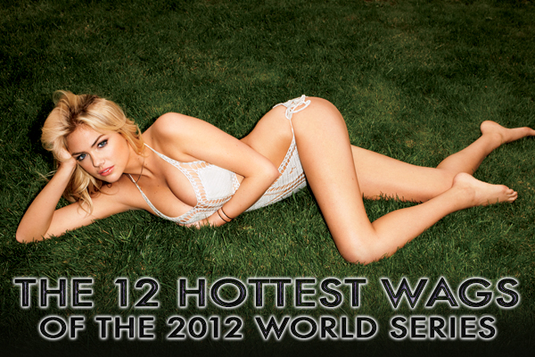 world series wags 2012