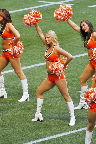 10 BC Lions Felions Cheerleader (Unknown) - Hottest CFL Cheerleaders
