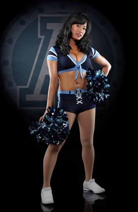 11 Toronto Argonauts Cheerleader (Jackie P.) - Hottest CFL Cheerleaders