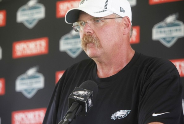11 andy reid (eagles coach) - greatest best sports mustaches