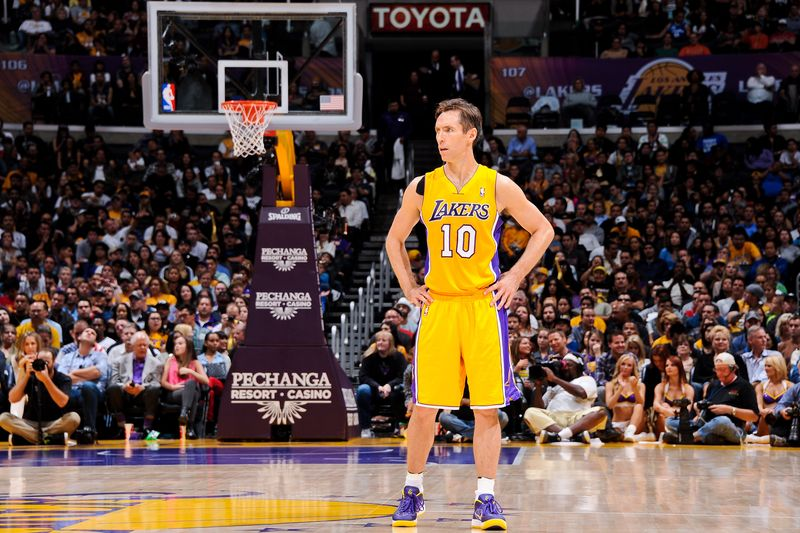 13 Steve Nash (Lakers) - best selling NBA jerseys