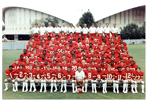 14 1980 georgia bulldogs - college football national championship droughts