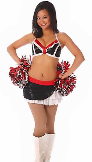 15 Calgary Stampeders Cheerleader (Camille) - Hottest CFL Cheerleaders