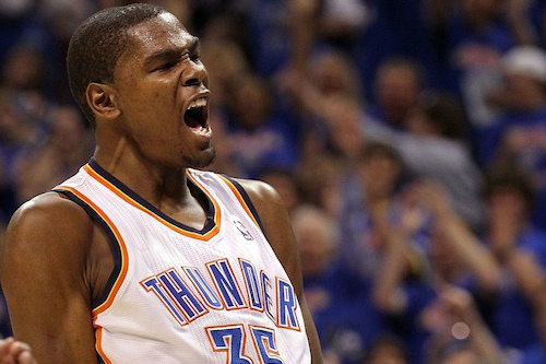 15 kevin durant thunder - highest paid nba players