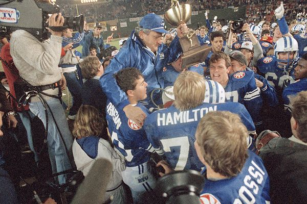 16 BYU cougars national championship 1984 - college football national championship droughts