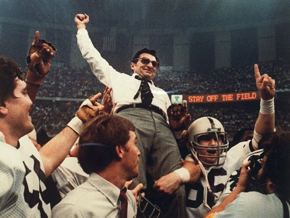 17 penn state joe paterno national championship - college football national championship droughts